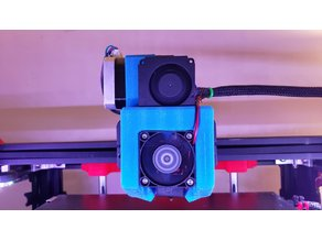 ENDER 5 Direct Drive and Cooling Duct (Remix)