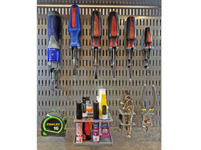 Modular Tool Racks for Elfa Utility Board