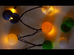 LED Christmas Tree Bauble / Ornament / Ball