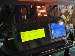 Sim Racing Dashboard ( SimHub + iRacing PitBoard)