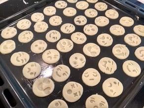 Emoji cookie cutter