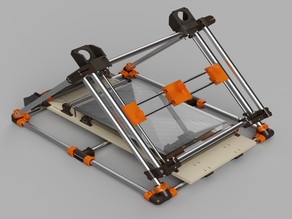 Piper Infinity (Piper 4) - Infinite Z 3D Printer (Metric version or 19mm pipe)
