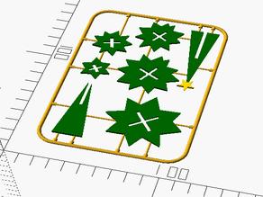 Customizable Christmas Tree on a Card
