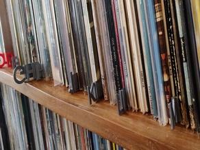 lp/ cd sorting tags