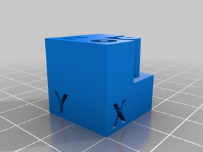 Test Cube with Features