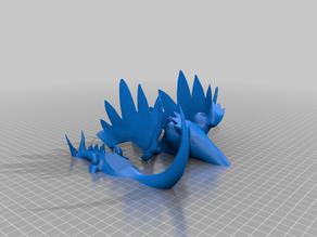 Mega Charizard Sliced for Printing