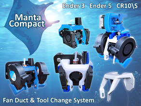 Manta Compact Fan Duct & Tool Change System