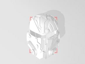 Custom Mandalorian Helmet