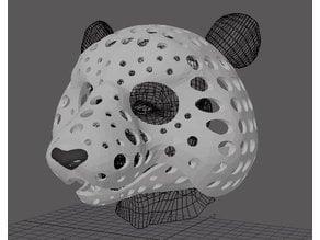 Fursuit- or puppet-head base - version 82 - Panda