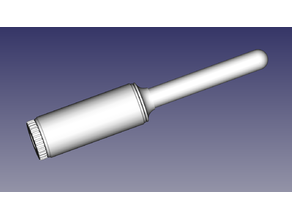 Lint roller from polypropylene pipe