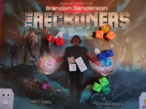 Reckoners Board Game Dice