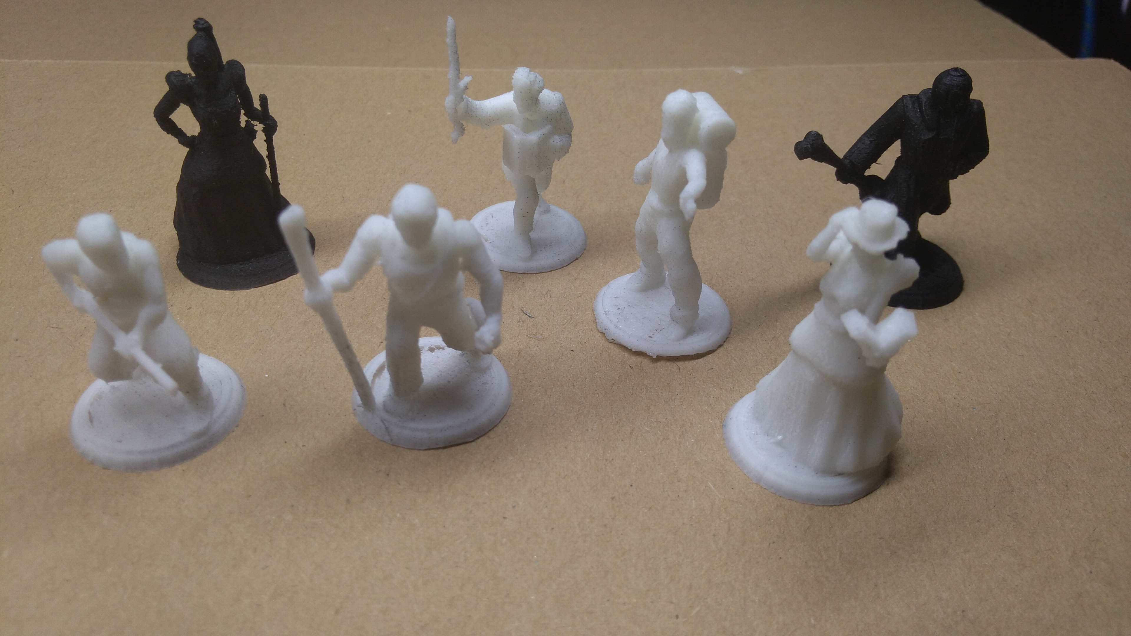 7th Continent proxy miniatures