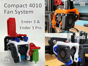 Compact 4010 Duct System for the Ender 3