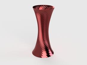 Tall Spiral Vase