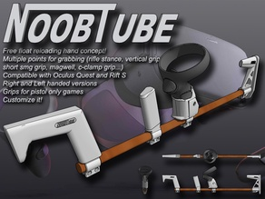 Oculus QUEST & Rift S NoobTube (rifle and submachine gun grip)