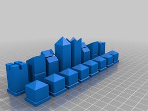 Modern Chess 3d Model