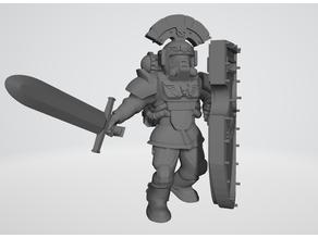 Hostile Environment Guardsmen - Praetor Crusader