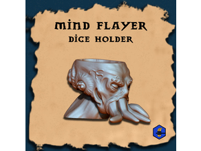 Mindflayer dice holder