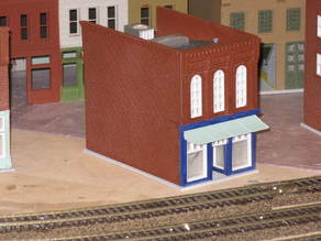 HO Scale Main Street Two