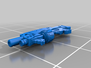 Yu-Jing MULTI Rifle and Light Grenade Launcher for Infinity: The Game