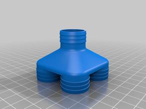fast printable ventilator splitter