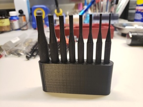 Holder for Harbor Freight 8pc Pin Punch Set