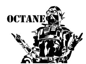 Octane stencil