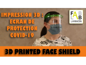 COVID19 SHIELD PROTECTION (only 2 parts)