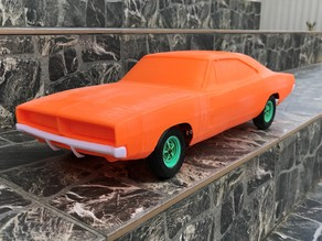 RC Car - RC Dodge Charger (chassis)