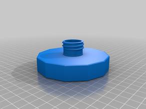 Wide mouth mason jar SoftSoap dispenser-remixed