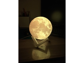 moon light with stand