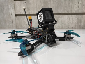 GEPRC MARK 4 Adjustable Angle GoPro 5 6 7, Session 5 ReelSteady, Camera Mount