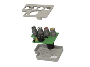 Commodore C64 A/V-Adaptor Case
