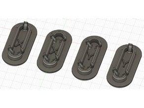 Ender 3 v2 Belt Tensioner Covers