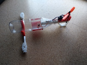 Pusher-Bottle-Tricopter Part II