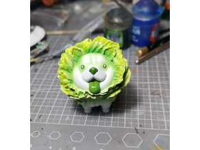 Vegetable dog Chinese cabbage dog miniature