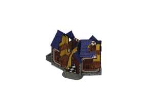 HenryCornerBuilding - Mordheim, Frostgrave, War-game 28mm