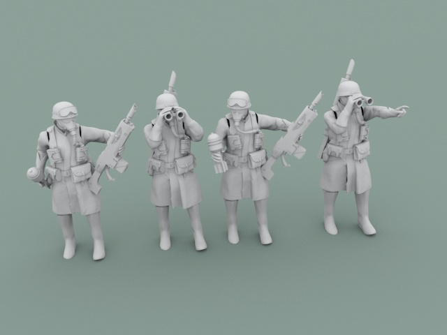 Legion Of Metal Mortarcrew