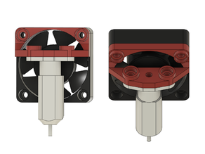 BLTouch Mount for Hydra Fan Duct