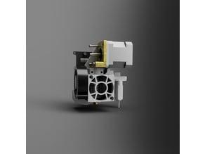 Geeetech i3 E3D direct drive extruder part cooling fan remix - Gen2