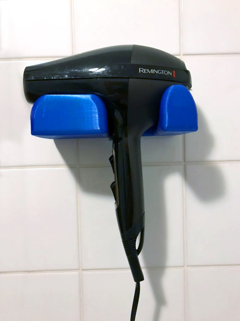 Wall Holder for Remington Hairdryer