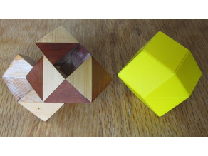 Orchid Pennyhedron Puzzle