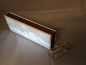 Lithophane Lampe Boot