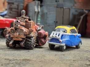 Mad Max Isetta Gaslands