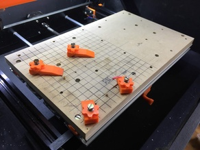 CNC 3018 Pro - Wasteboard & Clamps
