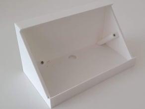 Angled UK Socket Back Box
