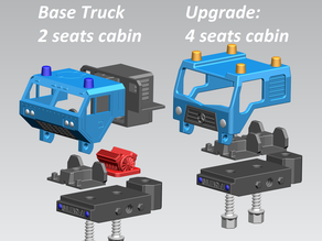 Truck variant: 4 seats cabin - Take Apart (RELOADED)
