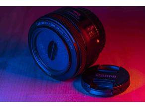 Anamorphic Filter Canon EF 50mm f/1.8 STM