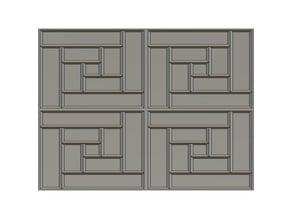 True Tiles Stone Design Tile Open Lock