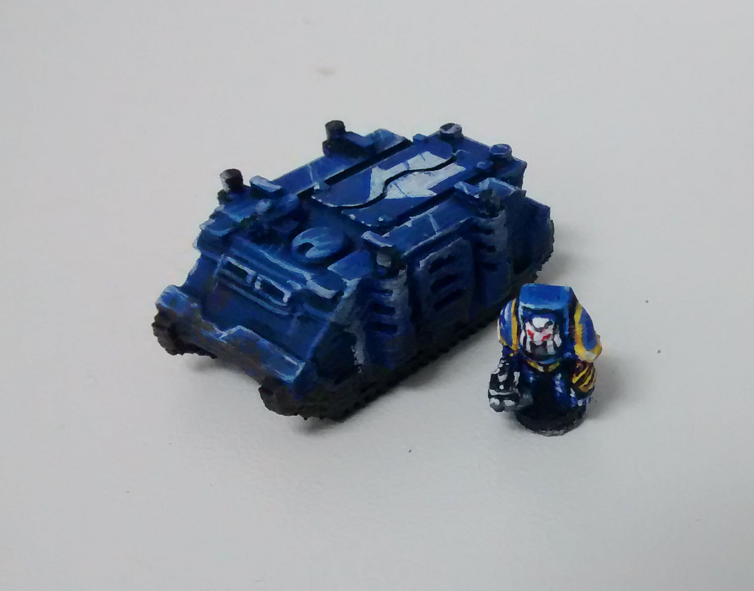 Rhino Transport Vehicle for Epic 40K (6mm scale) by jfombe